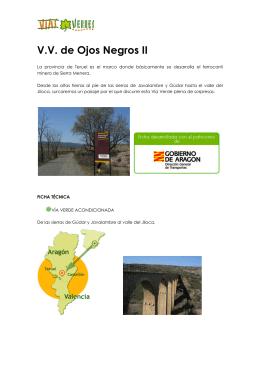 Vía Verde de Ojos Negros II (Teruel)