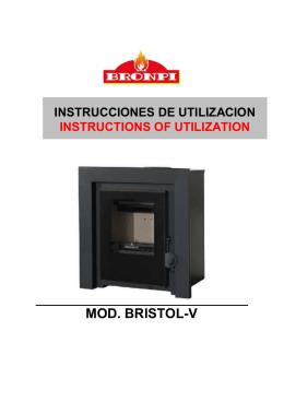 MANUAL ESPECIFICO MODELO BRISTOL-V español-ingles