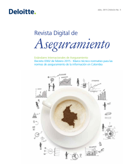 Revista Digital de Aseguramiento