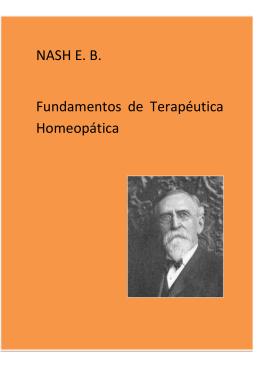NASH E. B. Fundamentos de Terapéutica Homeopática