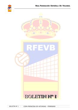 REAL FEDERACIÓN ESPAÑOLA DE VOLEIBOL COPA