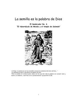 El Tabernaculo de Moises y el templo de Salomon