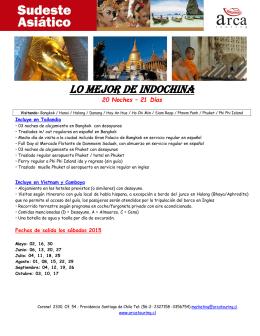 Programa - Arca Touring
