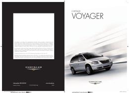 Catálogo Chrysler Voyager 2007