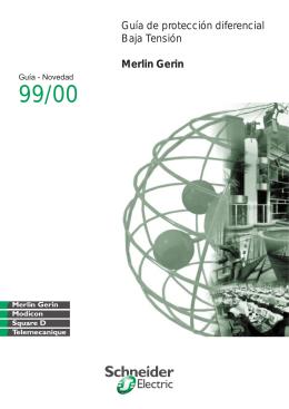 Guía de protección diferencial Baja Tensión Merlin Gerin