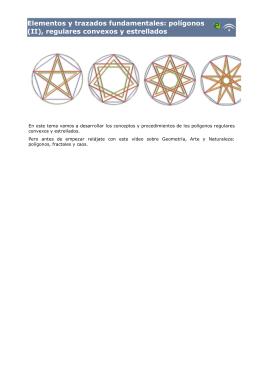 Elementos y trazados fundamentales: polígonos (II
