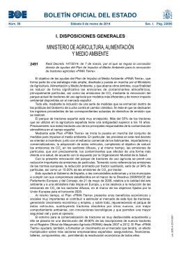 Real Decreto 147/2014