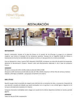 RESTAURANTE BAR L`ÉTOILE