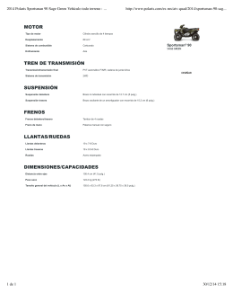 2014 Polaris Sportsman 90 Sage Green Vehículo todo terreno