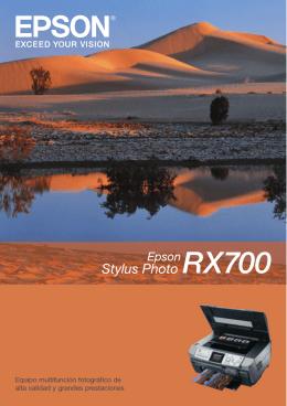 Equipo multifunción fotográfico de alta calidad y grandes prestaciones
