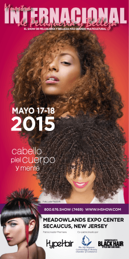 MAyO 17-18, 2015 - International Hair and Beauty Show