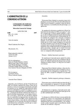 oro negro bop - Federaciones Canarias de Comercio, Hostelería