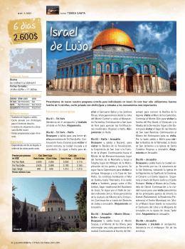 Israel de Lujo