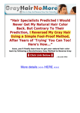 pdf How to Stop And Reverse Gray Hair Naturally Pyyk