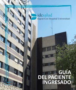 Guía de paciente621 KB - Hospital Universitario Sagrat Cor