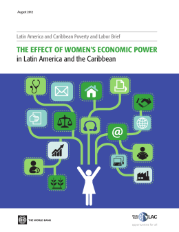 THE EFFECT OF WOMEN`S ECONOMIC POWER in Latin America