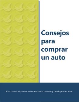 Consejos para comprar un auto - Latino Community Credit Union