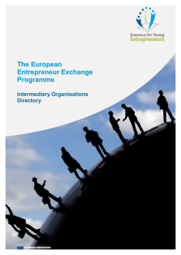 Directory final version - Erasmus for Young Entrepreneurs