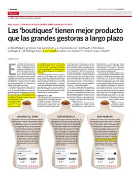 Las `boutiques` tienen mejor producto que las - Blog