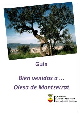 Guia Bien venidos a Olesa de Montserrat