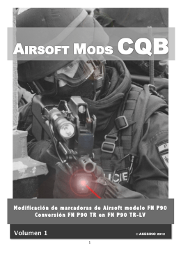 Airsoft Mods CQB Volumen 1: FN P90 TR