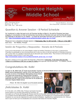 Madison Metropolitan School - Cherokee Heights Middle School