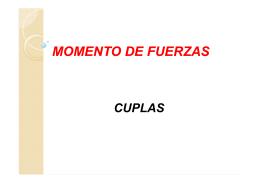 MOMENTO DE FUERZAS