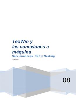 TeoWin y las conexiones a máquina