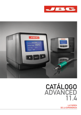 CATÁLOGO ADVANCED 11.4