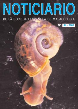 DE LA SOCIEDAD ESPAÑOLA DE MALACOLOGIA