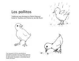 Los pollitos - Spanish Playground