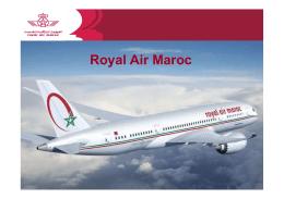 Royal Air Maroc - Cámara Brasil España