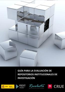 Guía para la evaluación de repositorios institucionales