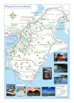 Mapa de la Zona de Kansai (PDF:16216KB)