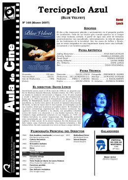 Hoja Informativa - Aula de Cine de la ULPGC