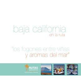 folleto bc - Rutas Gastronómicas