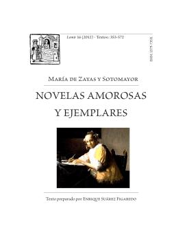 Novelas amorosas y ejemplares (edición de Enrique