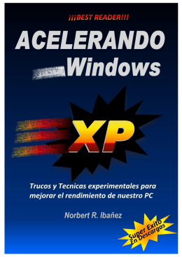 Optimizar Windows XP
