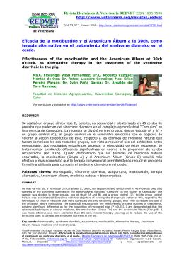 Eficacia de la moxibustión y el Arsenicum Álbum a