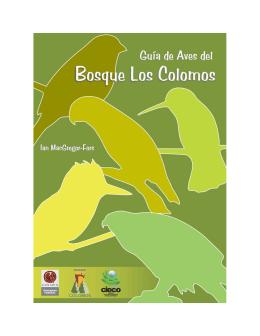 Guía de Aves del Bosque Los Colomos