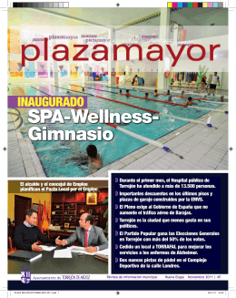 SPA-Wellness- Gimnasio - web oficial