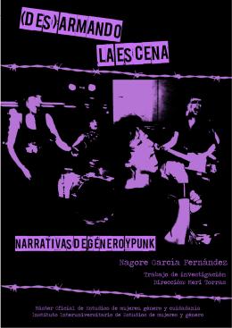 Des/armando la escena: narrativas de género y punk [ 1 ]