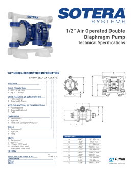 1/2 in Air Operated Diaphragm Pump Sales and - Fill-Rite