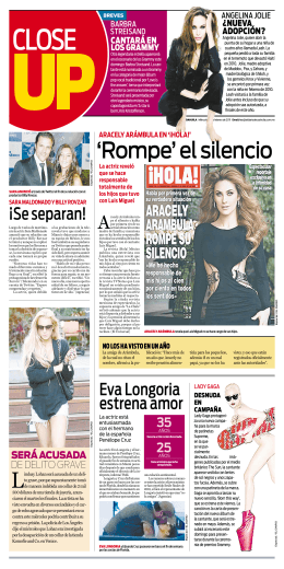 `Rompe` el silencio - El Diario de Coahuila