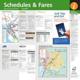 Regional Transit Diagram