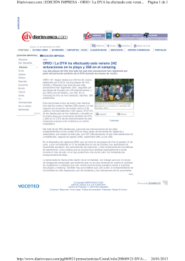 Página 1 de 1 Diariovasco.com | EDICIÓN IMPRESA