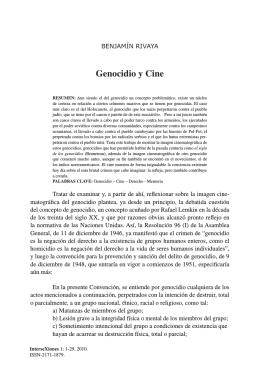 Genocidio y Cine