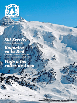 Ski Service Baqueira en la Red Viaje a los valles