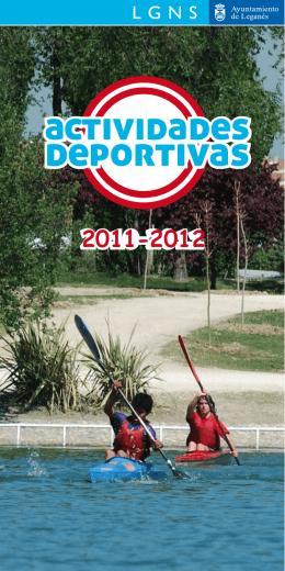 Guía actividades deportivas 2011