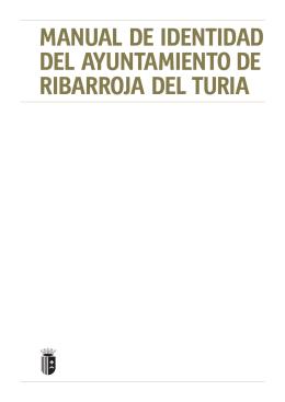 manual de identidad del ayuntamiento de ribarroja